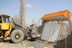 تخریب ۴۰۰ مورد ساختوساز غیرمجاز در اراضی کشاورزی آذربایجان شرقی