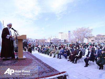 راهپیمایی متفاوت یومالله ۲۲ بهمن ۱۳۹۹ در تبریز