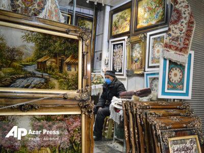 سیری در بازار تابلو فرش تبریز