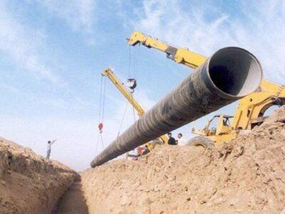 اصلاح خط انتقال آب نهند به تبریز ۹۸ درصد پیشرفت فیزیکی دارد